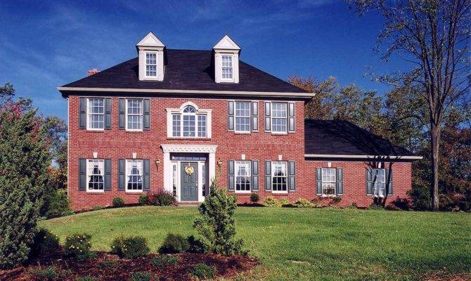 Classic Colonial Architectural Designs House