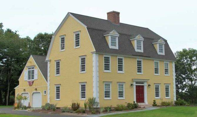 Classic Colonial Homes Gambrel Dutch Style