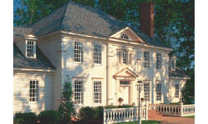 Classic Colonial House Plans Style