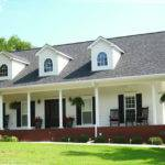 Classic Country House Plan Features Beautiful Front