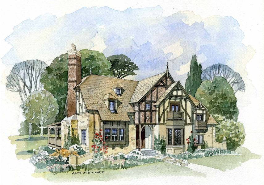 Classic English Cottage House Plans