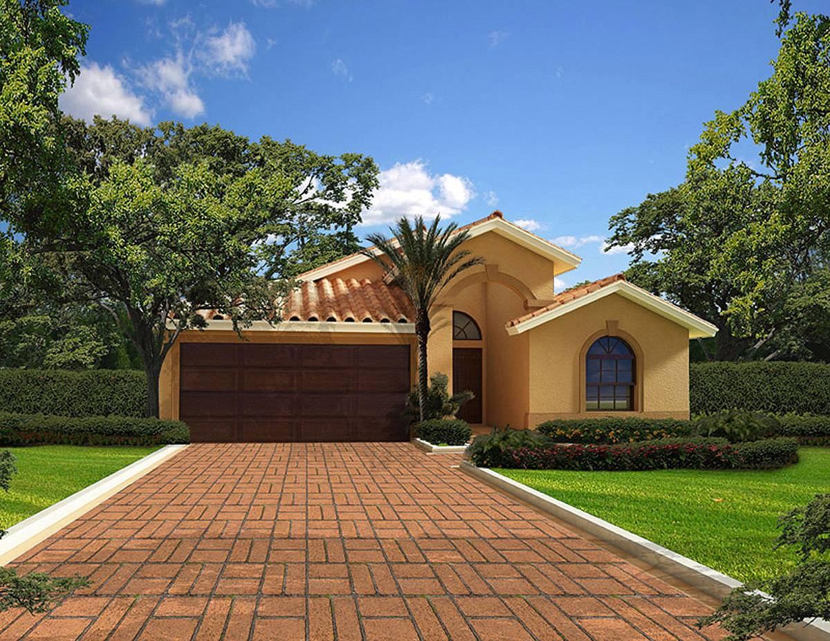 Classic Florida Bungalow House Plan
