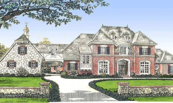 Classic French Country Manor Home