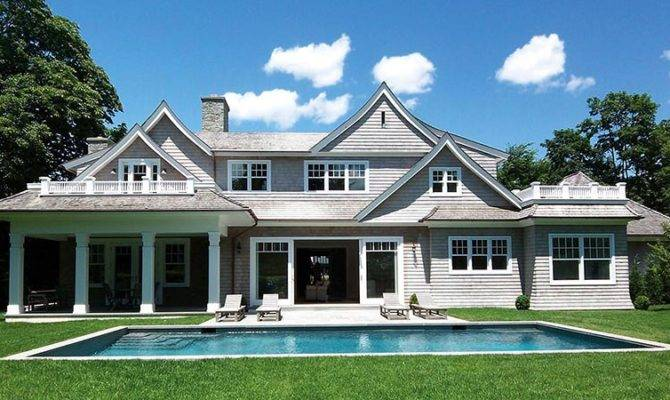 Classic Hamptons Architecture Shingle Style Its Best