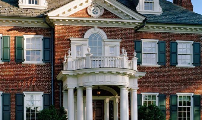Classic Mid Atlantic Georgian Charles Hilton Architects