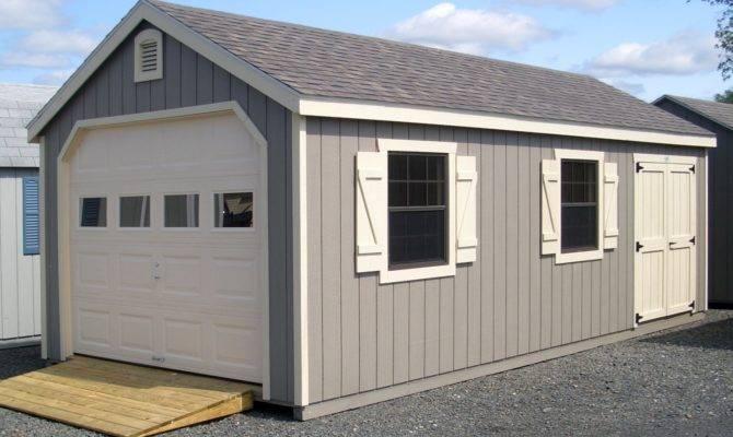 Classic Single Bay Garage Photos Barn Yard Great