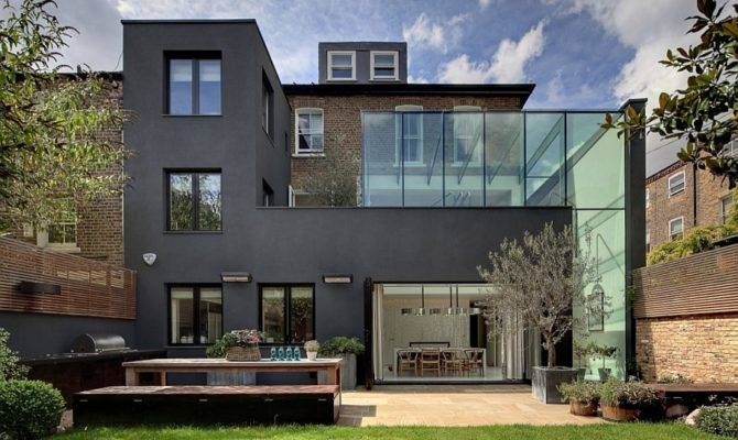 Classic Victorian House London Gets Grand Glassy