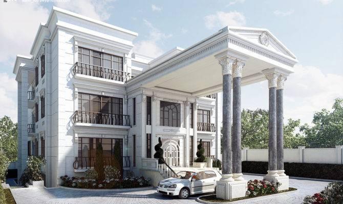Classic Villa Exterior Kasrawy Deviantart