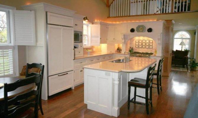 Clean Open Concept Kitchen Bright Design