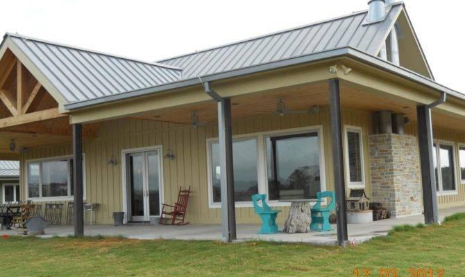 Clean Simple Design Metal Building Home