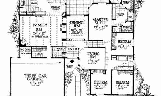 Cliff May Home Floor Plans