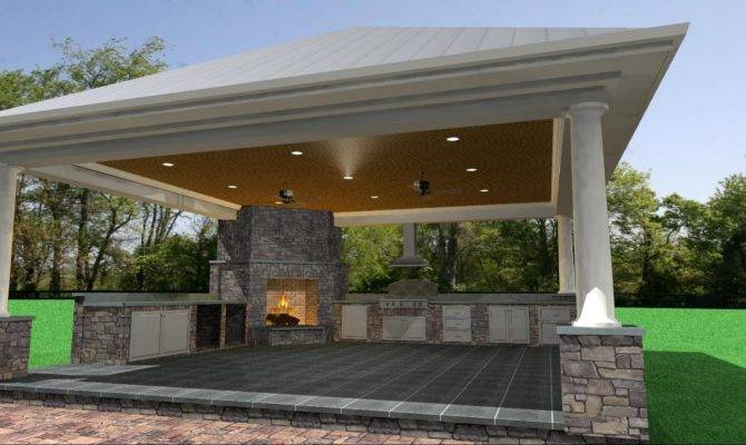 Close Cabana Included Grill