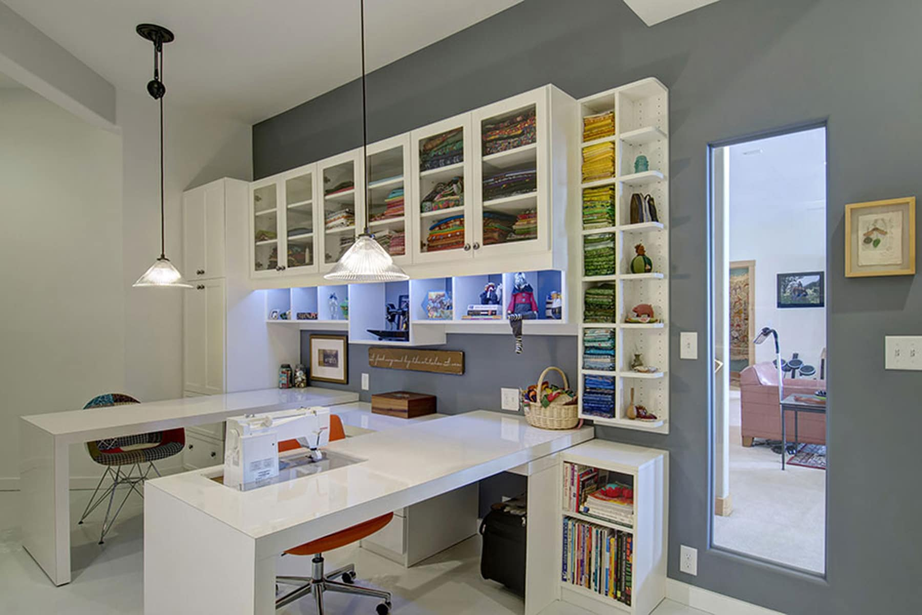 Closet Factory Craft Room Design