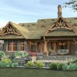 Coastal Small Craftsman Style House Plans Decor