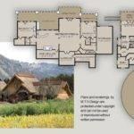 Coeur Alene Lodge Floor Plan Cabin Rustic Style Pinterest