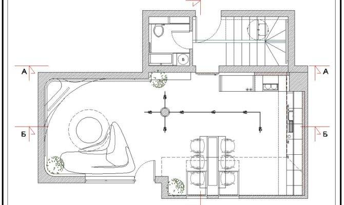 Cold Apartment Interior First Floor Plan Home Building