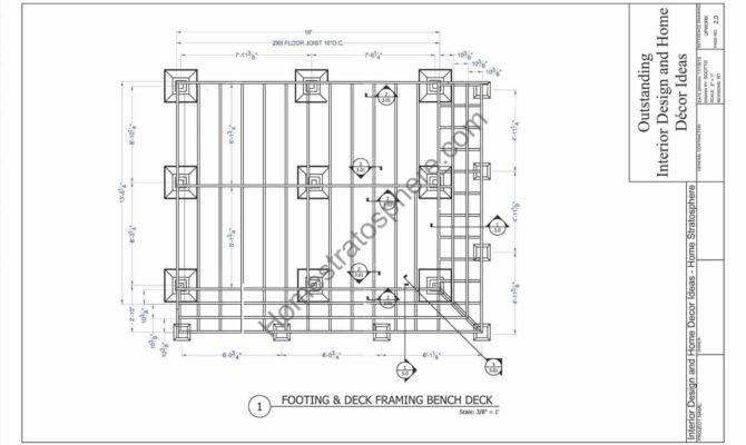 Collection Detail Wood Deck Framing Plans