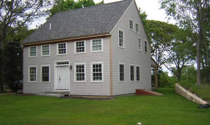 Colonial Farmhouse Design Architecture White