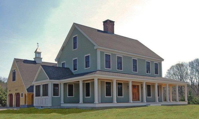 Colonial Farmhouse House Pinterest