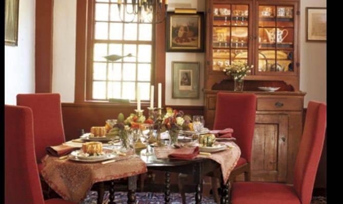 Colonial Home Decorating Ideas Planning