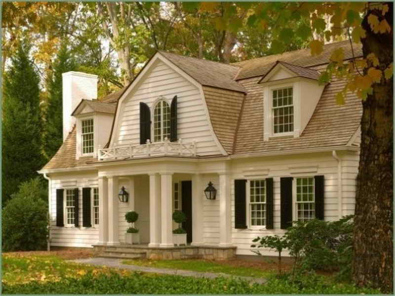 Colonial Homes Magazine Gambrel House Designs Dutch