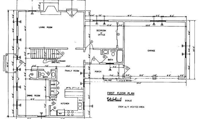 Colonial House Floor Plan