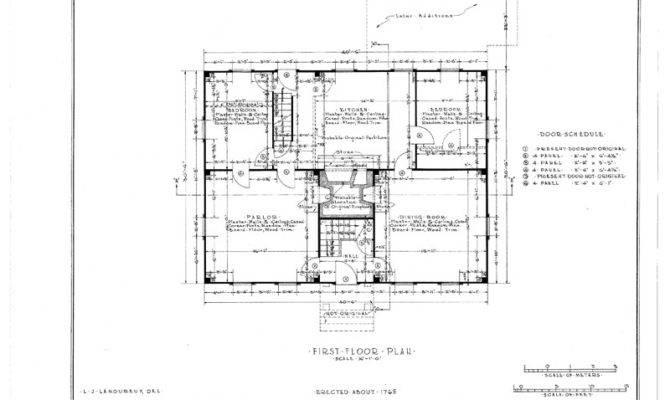 Colonial House Plans Blueprints Style