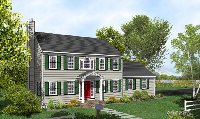 Colonial House Plans Modern Day Southern Cape Cod