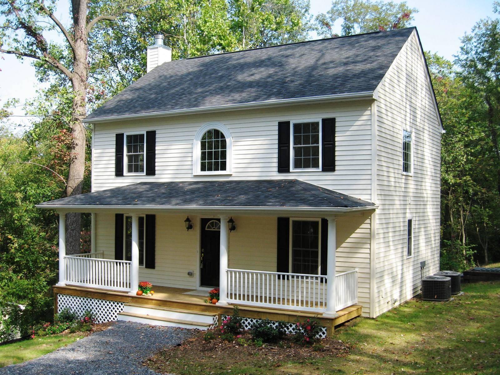 Colonial Small House Joy Studio Design Best
