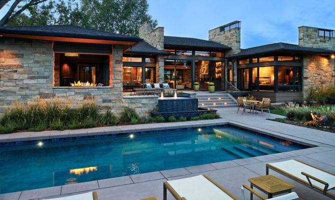 Colorado Contemporary Pool Denver