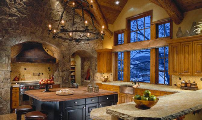 Colorado Mountain Home Traditional Kitchen Phoenix