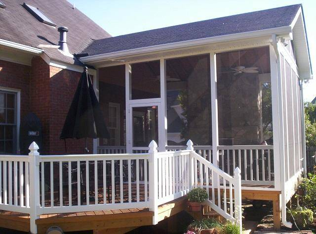 Columbia Screened Porch Open Builder