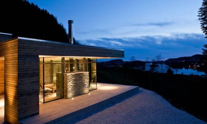 Comfortable Modern Cabin Bjerg Norway
