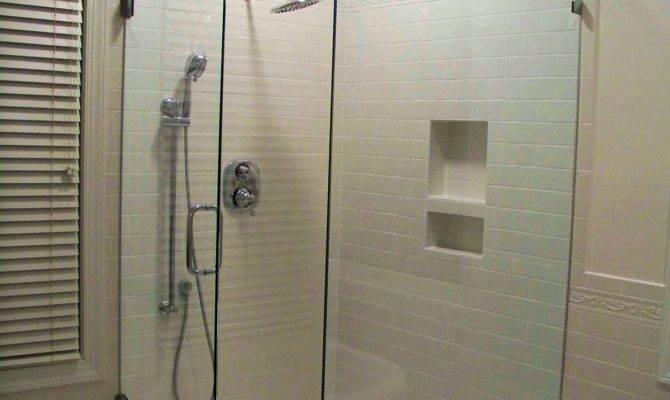 Comforts Home Master Bath Shower