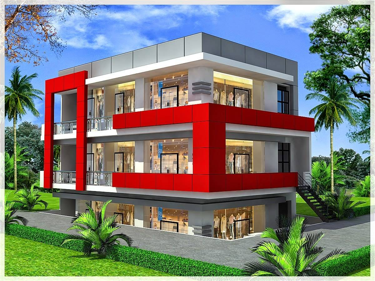 Commercial House Plans Designs