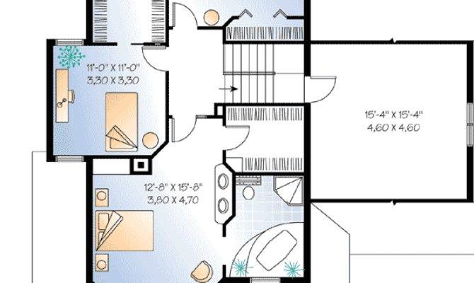 Compact Guest House Plan Floor Master Suite