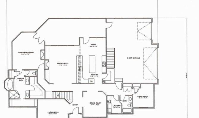 Concord House Plan Car Bedroom Story Master Main Mainfloor
