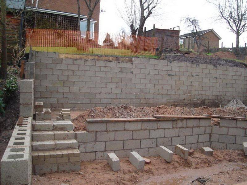 Concrete Block Retaining Wall Design There More