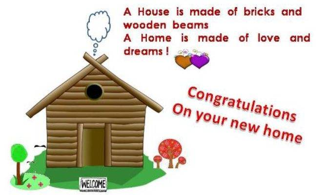 Congratulations Your New Home Quotes Quotesgram