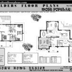 Construction Plans Story Storey Floor Plan Double