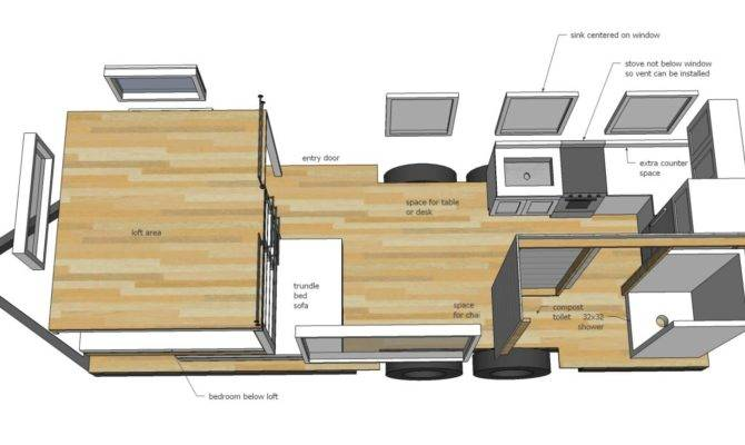 Construire Propre Tiny House Plans Gratuits