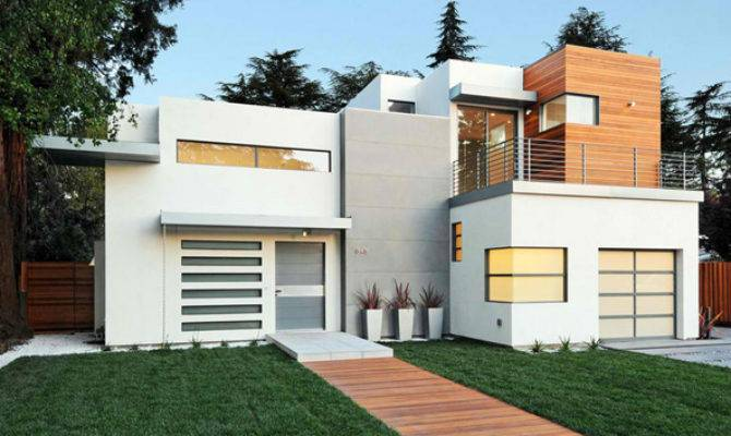 Contemporary Attached Garage Design Home Lover