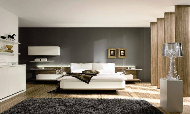 Contemporary Bedroom Styles Modern Architecture Concept