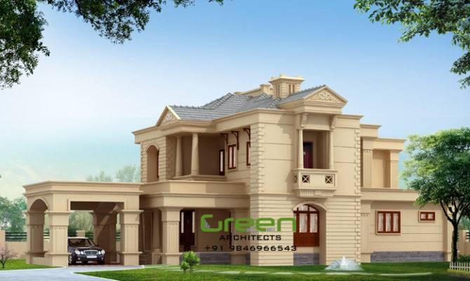 Contemporary Colonial House Design Ideas