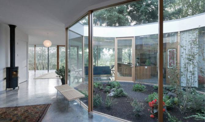 Contemporary Courtyard House Multi Generational Living