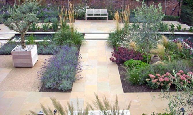 Contemporary Courtyard Sue Townsend Garden Design