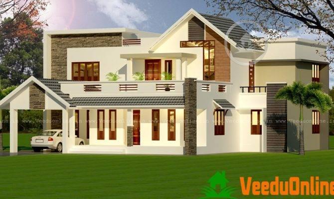 Contemporary Double Floor Home Design