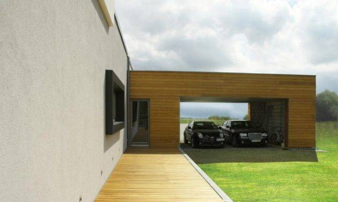 Contemporary Garage Designs Modern Houses