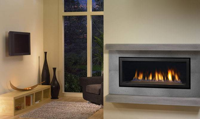 Contemporary Gas Fireplaces Bedroom New