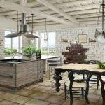 Contemporary Home Decor Rustic Cottages Kitchens Designs